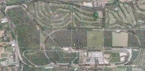 Planimetria circuito Monza. Da Google Map